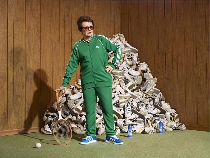 adidas and Billie Jean King collaborate to drive change for girls in sport