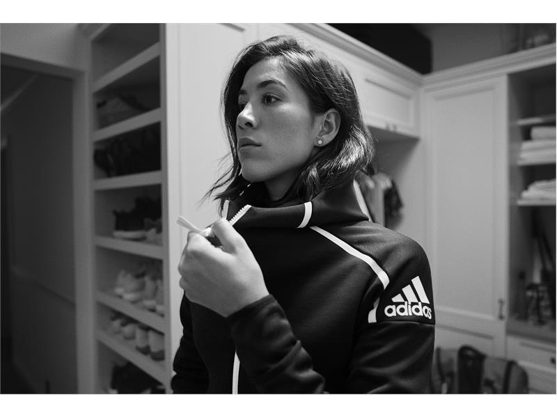 adidas Athletics desvela la chaqueta Z.N.E, destinada a aquellos atletas dispuestos a superar cualquier desafío