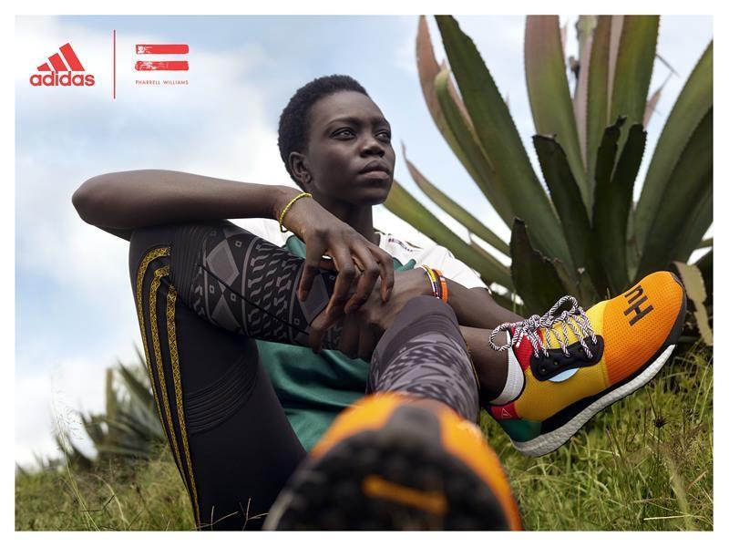 Pharrell Williams presenta su nueva colaboración con adidas running: SolarHu