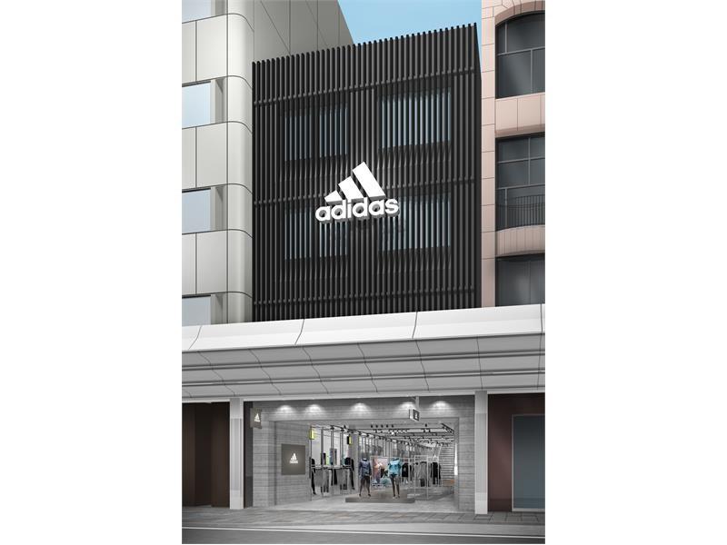 「アディダス ブランドコアストア 京都」2018年11月16日(金)新オープン
