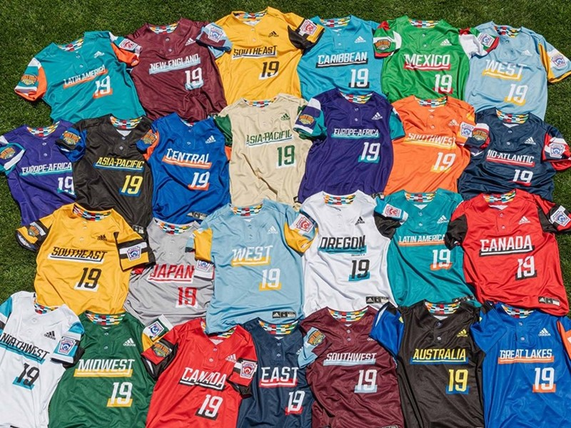 adidas and Little League® Unveil 2019 Baseball & Softball World Series Uniforms