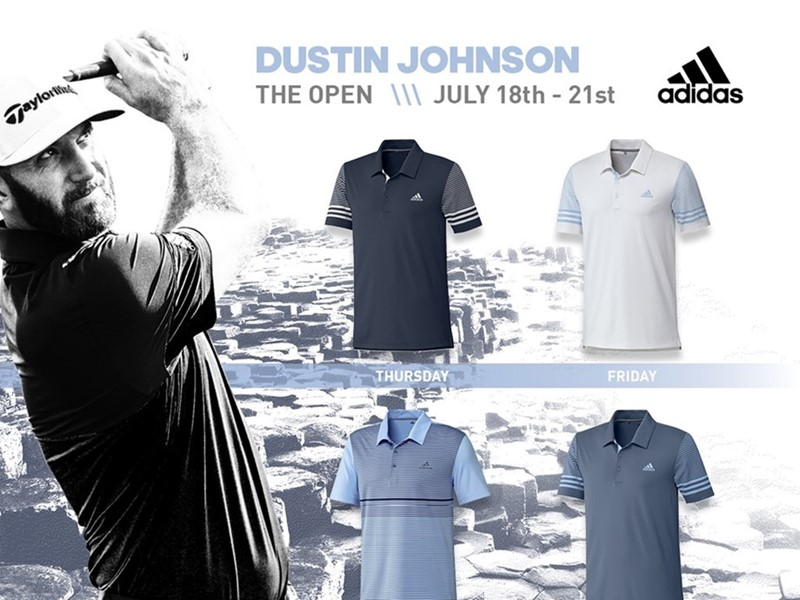adidas Golf Announces Athlete Apparel for the 148th Open Championship