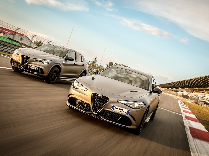 New Alfa Romeo Giulia Quadrifoglio NRING and Stelvio Quadrifoglio NRING Limited Editions celebrate the supreme success on the legendary German circuit