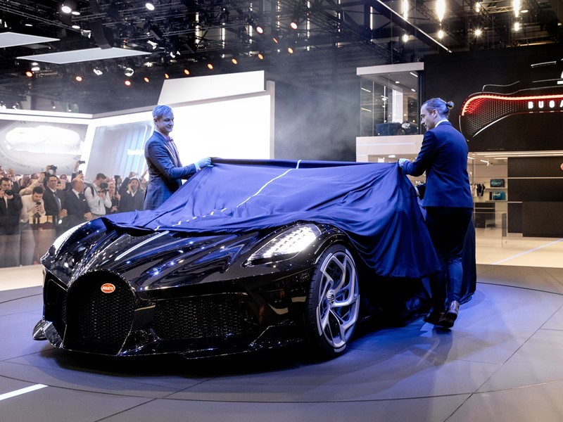 Bugatti celebrates its 110th anniversary with two world premieres at Geneva Motor Show