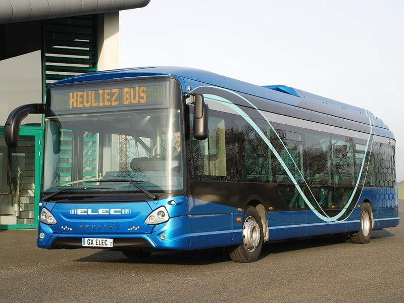 Heuliez Bus is taking up the challenge of low emission buses and is launching its new model: GX 337 ELEC