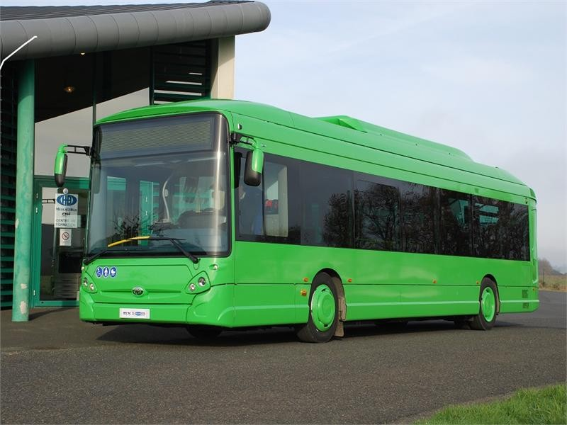 European Success for the GX Hybrid range which represents 56% of bus production in 2015