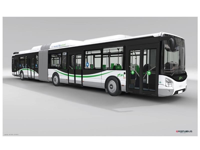 Nantes Métropole and Semitan confirm their commitment to environmental sustainability, placing an order for 80 Iveco Bus vehicles powered by natura...