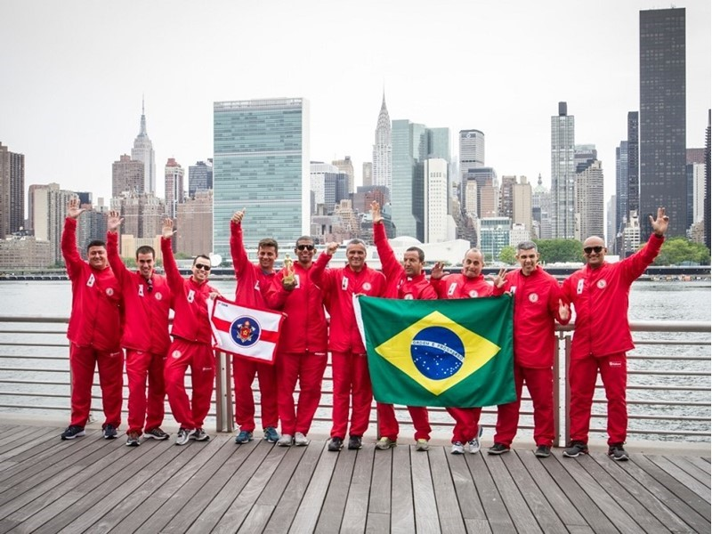 Rio de Janeiro Fire Department travels to New York with Magirus