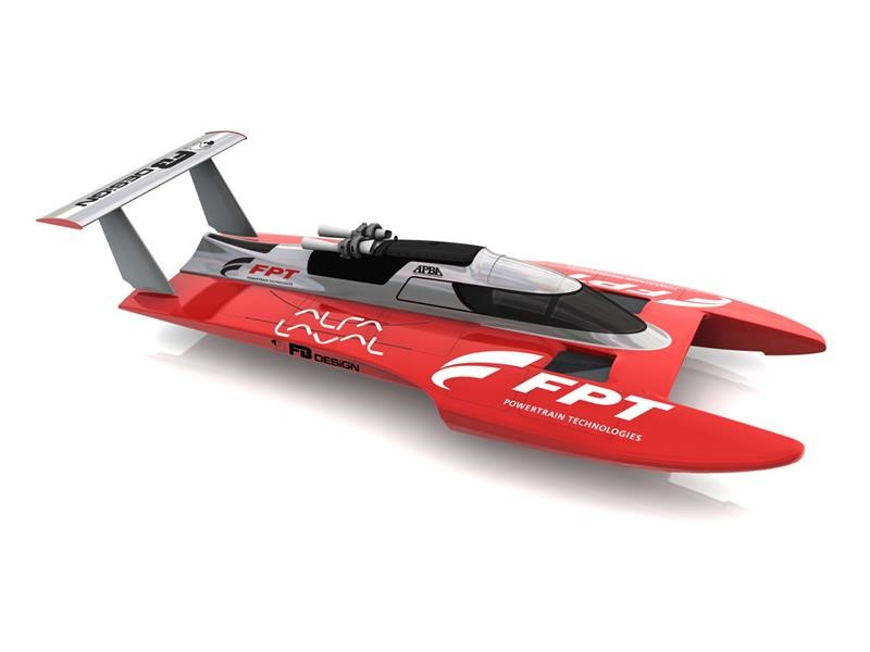 """The future of Marine Speed: FPT Industrial and FB Design present the new """"Three Point"""" Hull Concept at VBV Legends"""