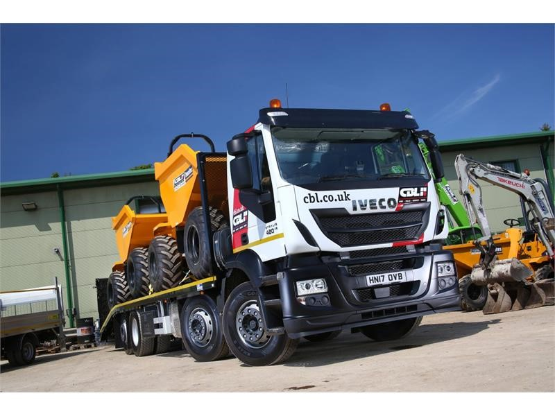 Plant hire specialist CBL picks IVECO range for fleet renewal