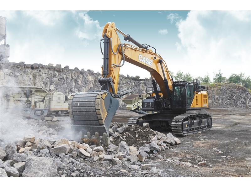 CASE introduces new CX750D excavator for best in class productivity and maximum uptime