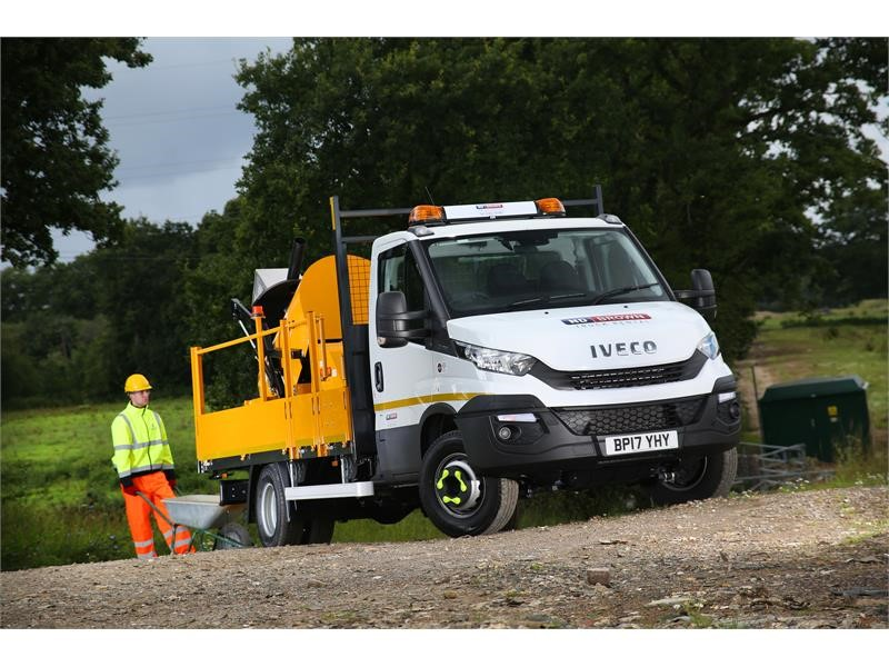 IVECO Daily's unrivalled payload capacity seals the deal for N D Brown