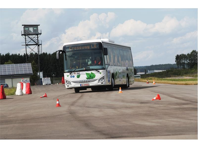 Crossway LE won the International Bus & Coach Competition award