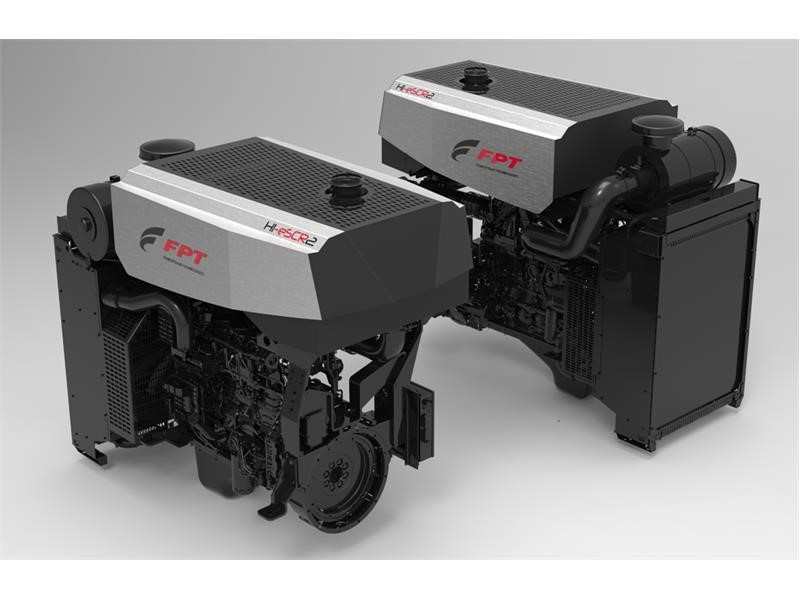"""New Power for Farmers"": FPT Industrial Presents its New NEF Stage V Engine Family and New Smart Powerpack at Agritechnica 2017"