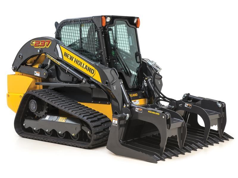 New Holland Construction adds C237 model to Compact Track Loader Lineup