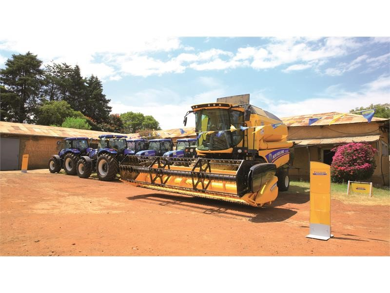 "Handover of New Holland products to GIZ ""Agricultural Mechanisation and Technology for Smallholder Productivity"" and ""Green Innovation Centre"" Proj..."