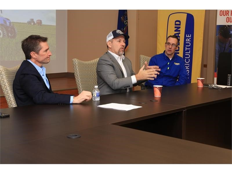 CNH Industrial hosted United States Congressman Lloyd Smucker at New Holland Plant