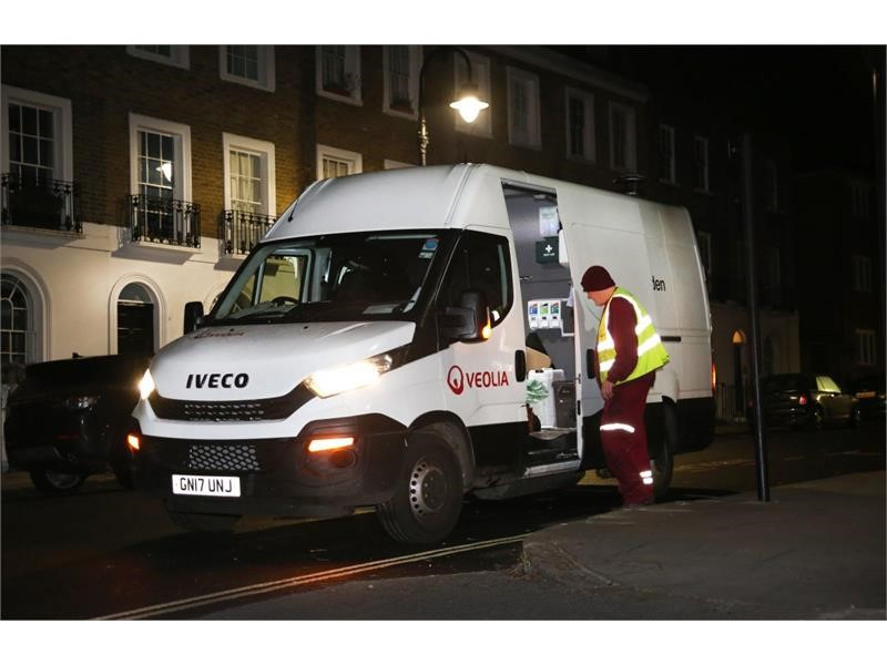 IVECO's expertise in Natural Power clinches Daily order with Veolia