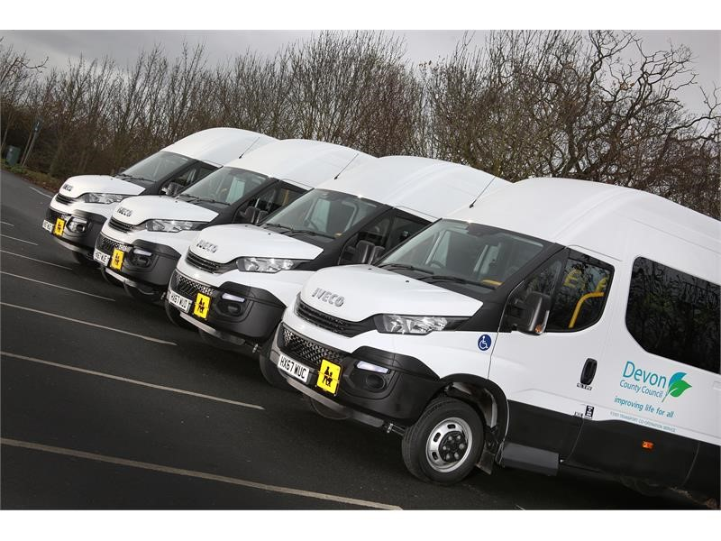 IVECO BUS secures order for 20 new minibuses for Devon County Council