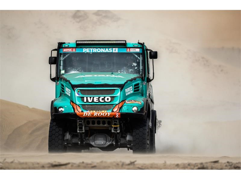Dakar Rally 2018: Team PETRONAS De Rooy IVECO off to a good start with a fourth position in stage 1