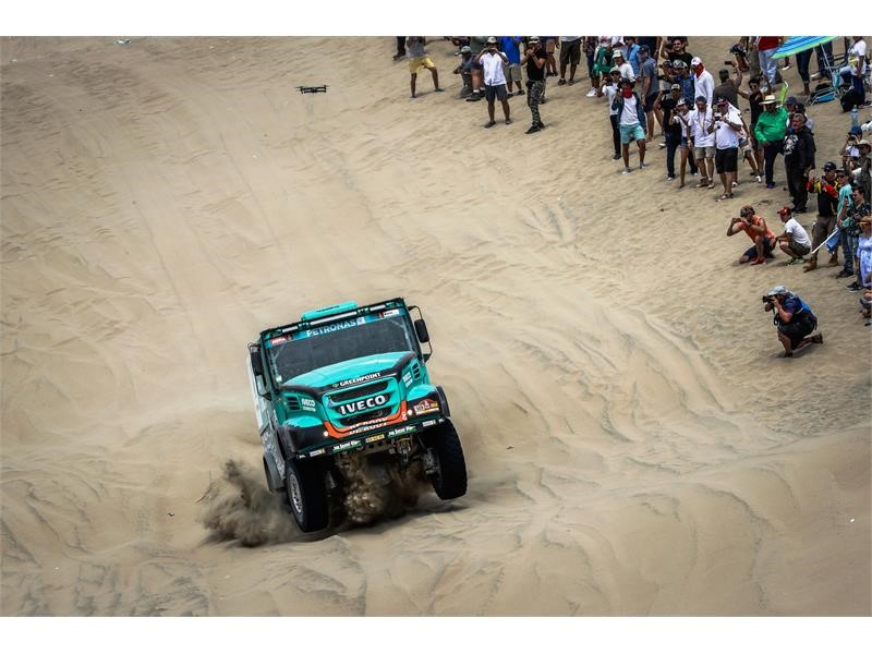 IVECO in top 5 of the Africa Eco Race and Dakar 2018 overall classifications