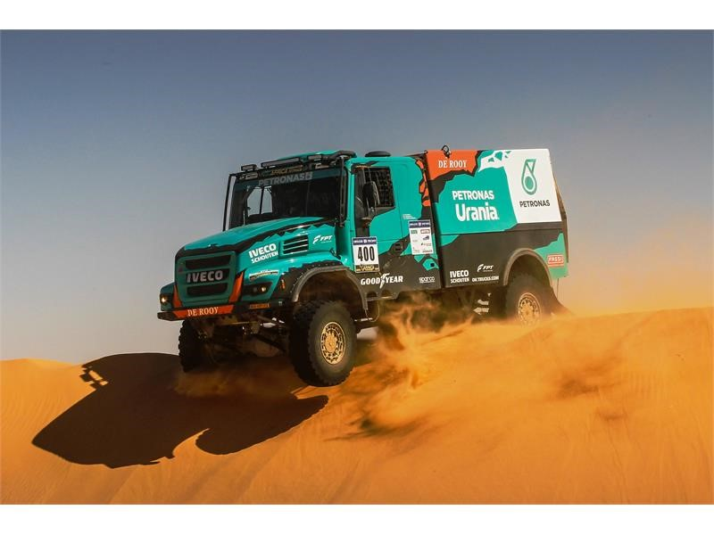 IVECO teams have eye on podium finishes in Africa Eco Race and Dakar Rally