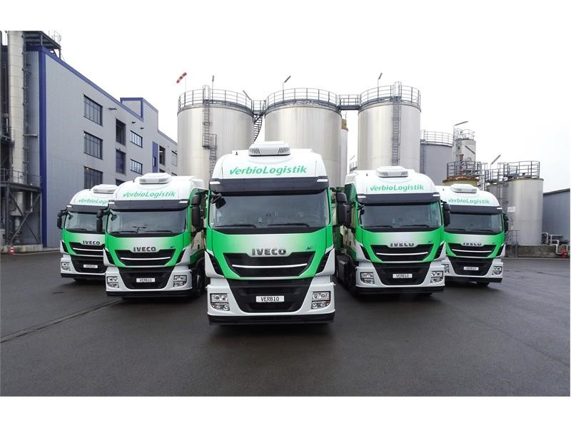 IVECO reaches the 1000th delivery of Stralis NP 400 with VERBIO, Germany's first CO2 neutral fleet running on biogas produced from straw
