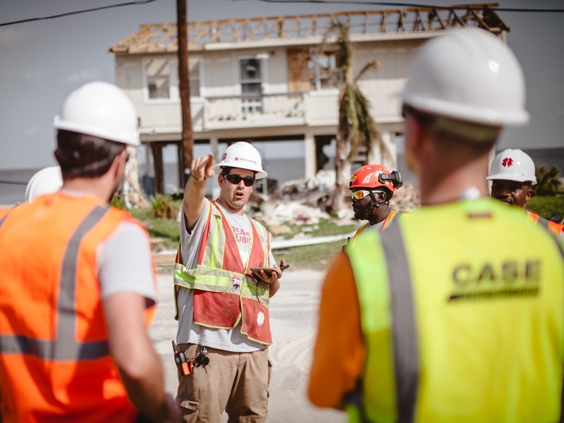 Behind the Wheel: CASE supports Team Rubicon for Hurricane Harvey disaster relief efforts