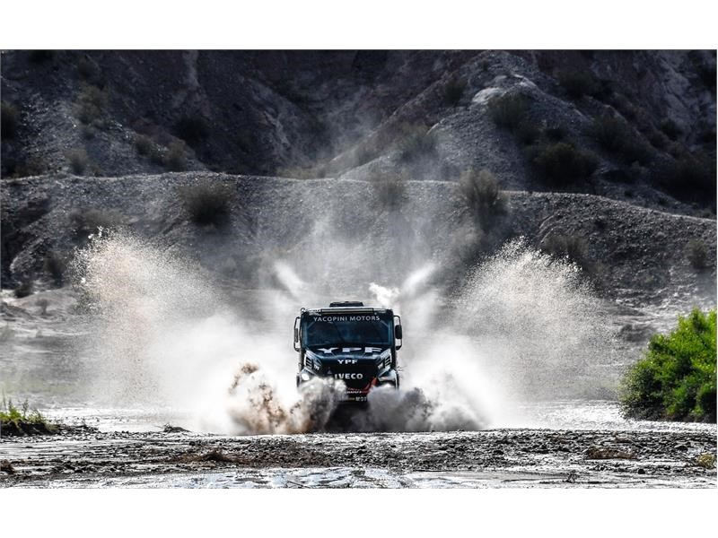 Dakar 2018: Fifth stage win for IVECO in fight for the title