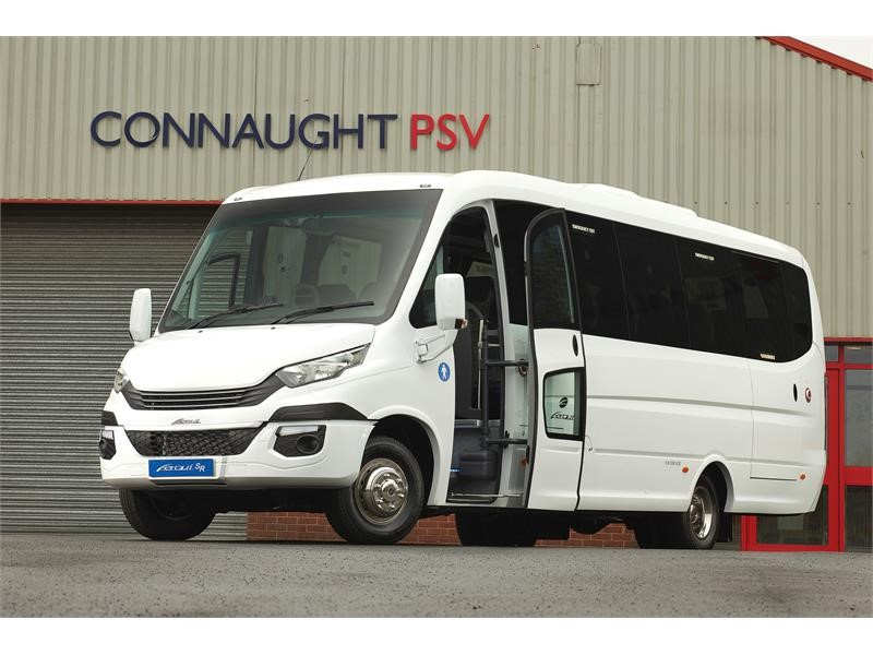 "7.2-tonne IVECO Daily Hi-Matic ""fits the bill perfectly"", says Connaught PSV Managing Director"