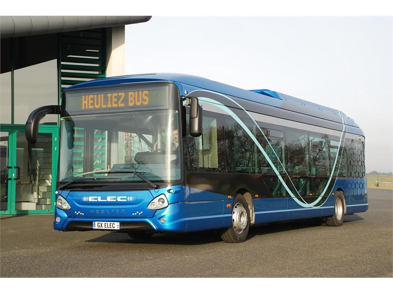 MULHOUSE ALSACE AGGLOMERATION – m2A has chosen HEULIEZ BUS for the supply of its fully electric buses