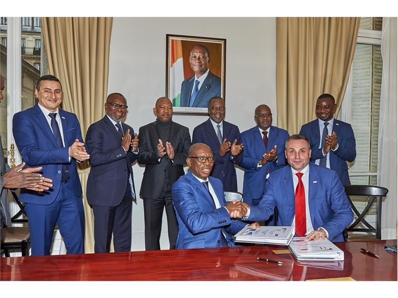 IVECO BUS signed a record contract for 450 buses for Abidjan, Ivory Coast, setting the 1st High Quality Mass Transit Bus System powered on Natural ...