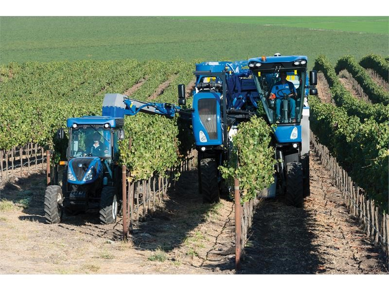 New Holland Agriculture Launches New Braud 9000 Series Grape Harvesters