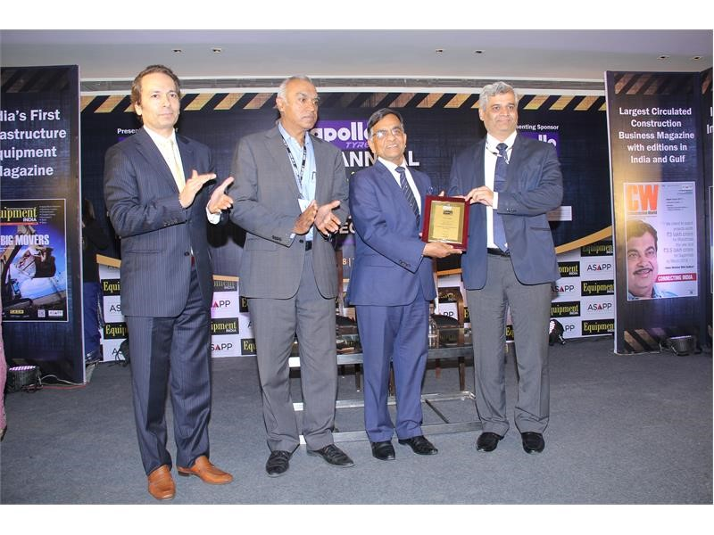 CASE wins Equipment India Award for fifth consecutive year