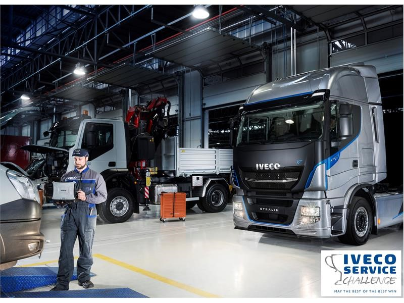 IVECO European Truck Station Teams to compete for Best Service title in the second edition of IVECO Service Challenge