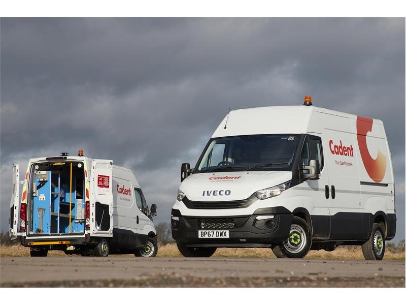 Cadent sees IVECO Daily vans as the future of its emergency fleet