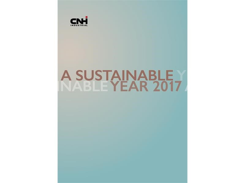 A Sustainable Year: CNH Industrial presents its 2017 highlights