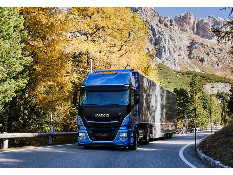 IVECO's LNG truck strategy backed by the European Commission's proposal to reduce CO2 emissions for heavy duty vehicles, promoting the use of LNG a...