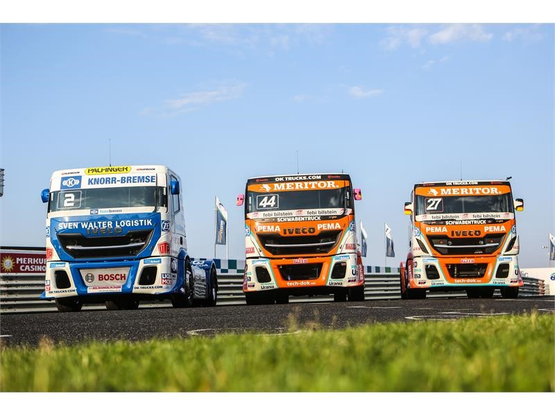 IVECO on the tracks of the European Truck Racing Championship 2018 with The Bullen of IVECO Magirus and new pilot Steffi Halm on board her Schwaben...