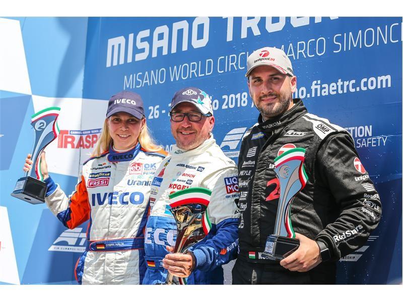 Great season start for the Bullen of IVECO Magirus winning the ETRC 2018 Italian Grand Prix at the Misano World Circuit