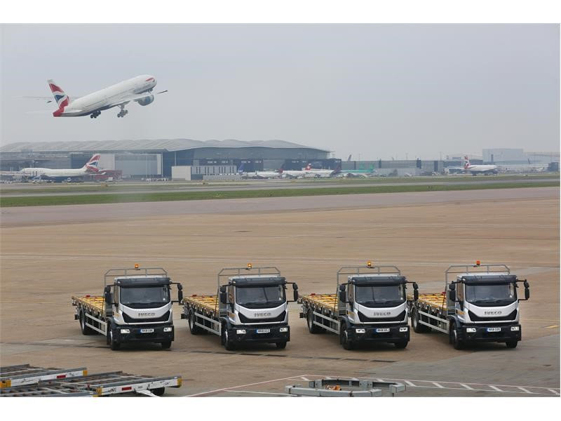 "IVECO's Eurocargo is a ""runway"" success for Worldwide Flight Services"