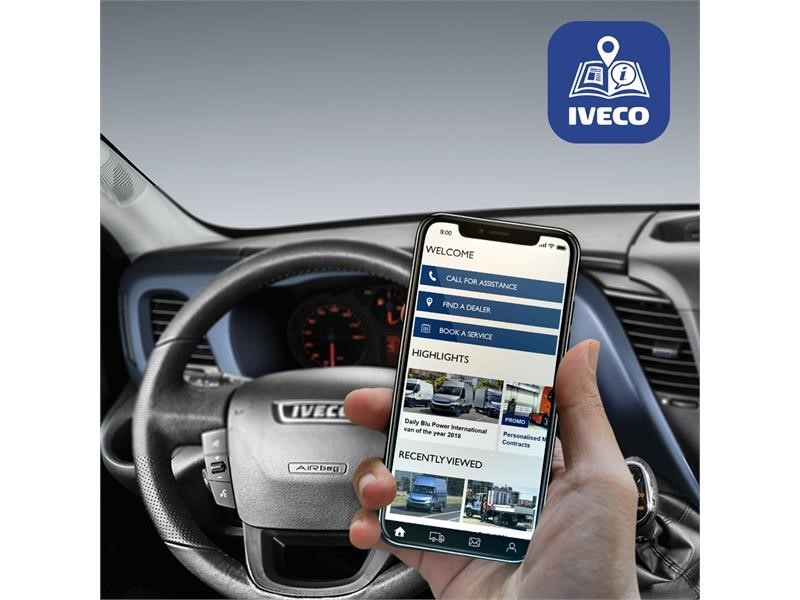 New MyIVECO app introduces new connected services for vehicle owners and drivers