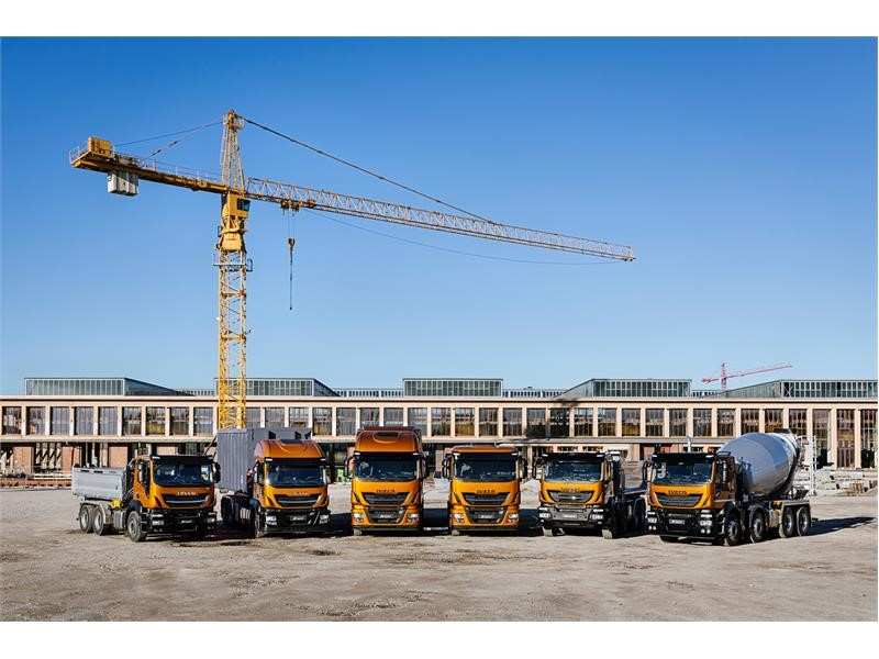 IVECO presents the new Stralis X-WAY and its sustainable vehicle ranges for the construction industry at Paris Intermat 2018
