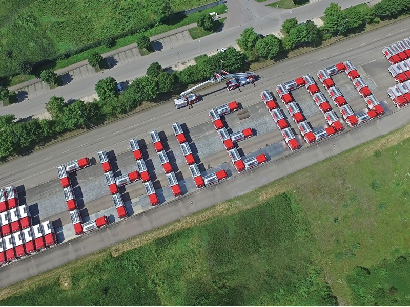 Magirus delivers 100 fire engines to the Junta Nacional de Bomberos de Chile