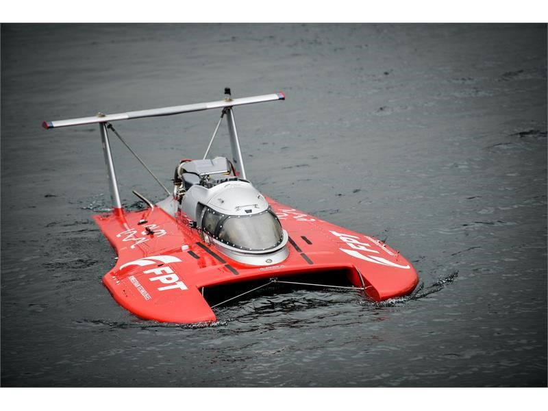 FPT Industrial Powers Fabio Buzzi in the Diesel Powerboat Guinness World Speed Record with more than 277 KM/H