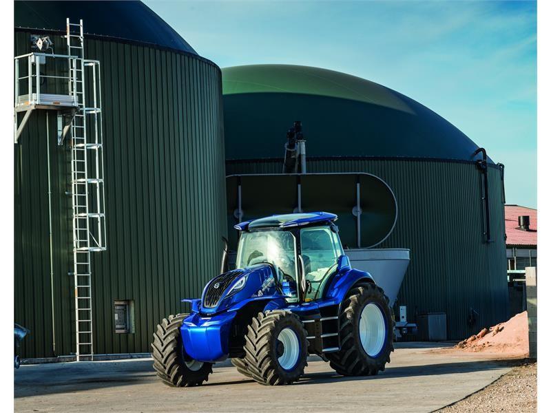 纽荷兰展示甲烷动力概念拖拉机和其对农业可持续未来的愿景
