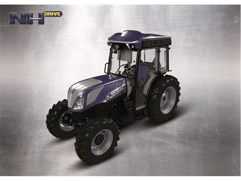 New Holland представляет автономный садовый трактор NHDrive T4.110F