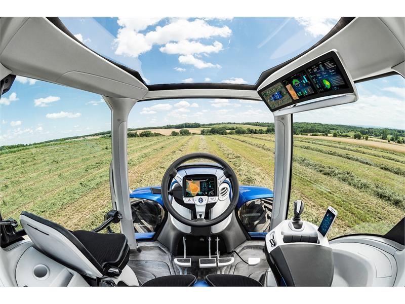 New Holland Agriculture представляет концепт трактора, работающий на метане