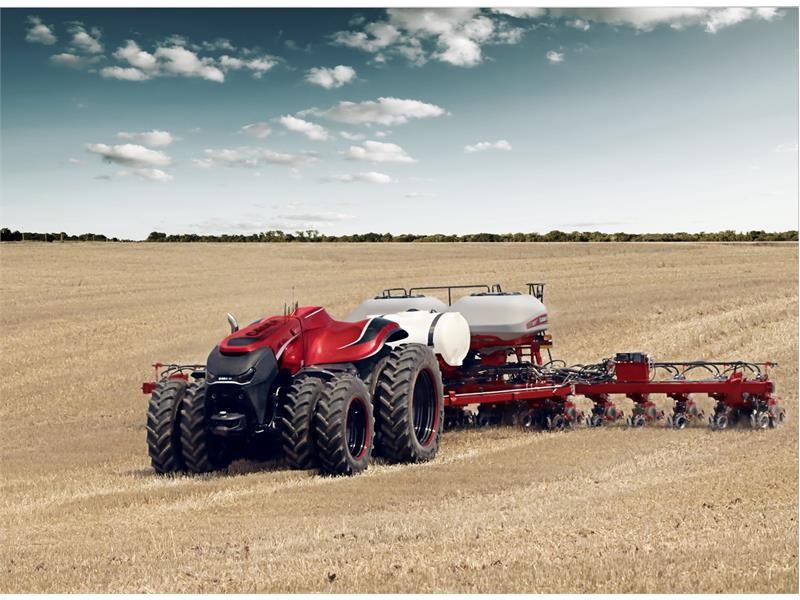 Case IH впервые представила концепт автономного трактора на выставке Farm Progress Show
