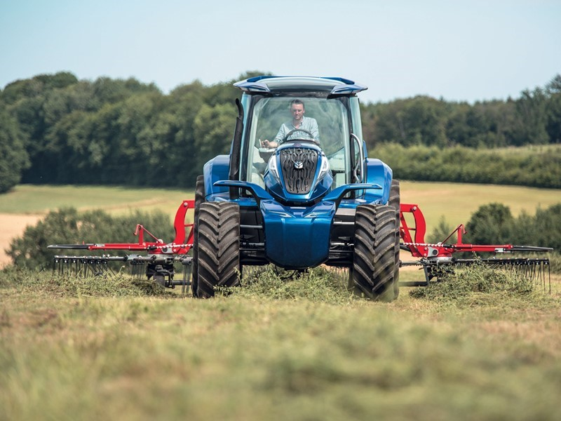 На выставке Farm Progress Show бренд New Holland представил свой концепт трактора, работающий на метане, и раскрыл свое видение будущего устойчивог...
